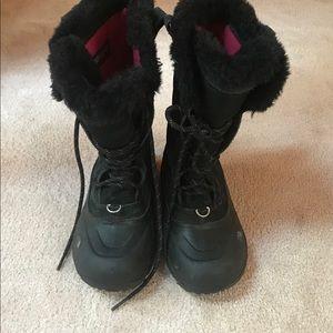 The North Face Heat Seeker  Black  Girls Boots 2
